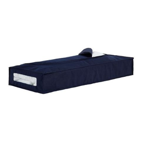 Sandsend Navy Blue Under Bed Bags with Handle